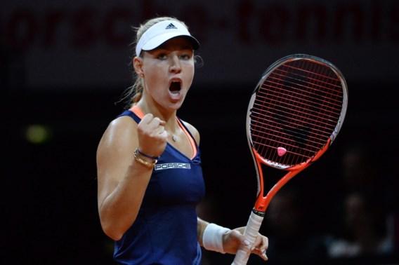 Angelique Kerber verovert titel in Stuttgart