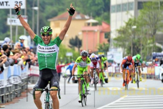 Omar Fraile wint in Ronde van de Apennijnen