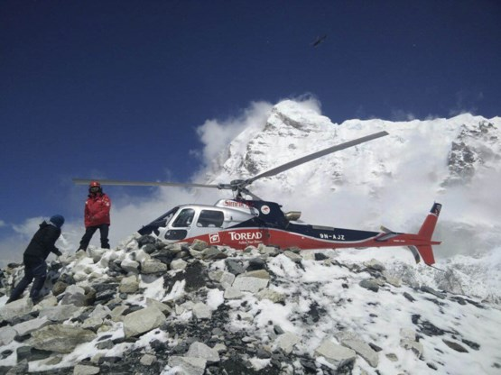 180 bergbeklimmers van Mount Everest geëvacueerd