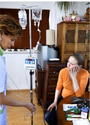 Thuis een chemokuur krijgen in plaats van in het ziekenhuis: nog dit jaar start een proefproject.