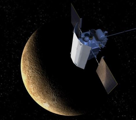 Nasa-sonde neergestort op Mercurius