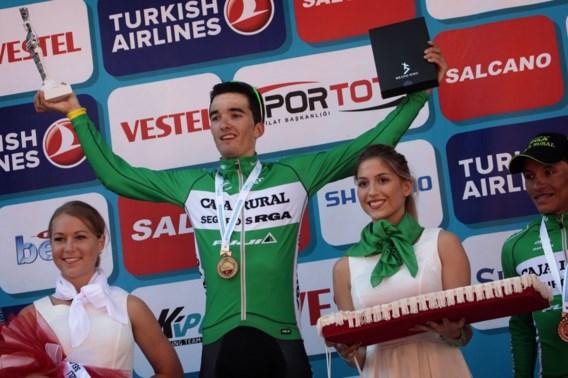 Bilbao wint zesde rit, Durasek nieuwe leider in Turkije