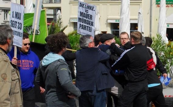 Rechtse extremisten vallen 1 meibijeenkomst in Weimar aan
