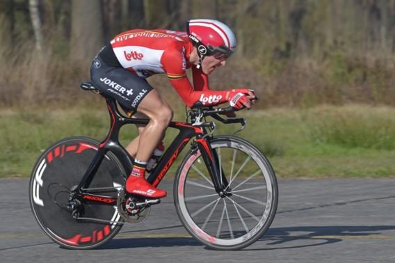 Ruben Pols is Belgisch kampioen tijdrijden bij de beloften