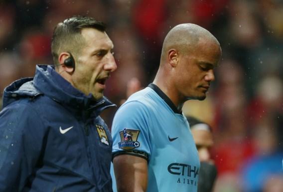Man City hoopt Vincent Kompany volgende week te recupereren