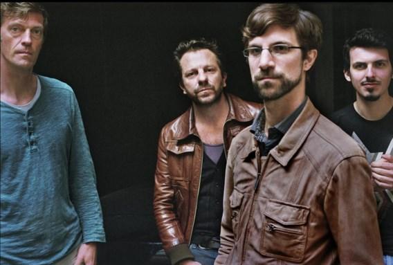 Bassist Nic Thys, zanger Tom Barman, saxofonist Robin Verheyen en drummer Antoine Pierre.