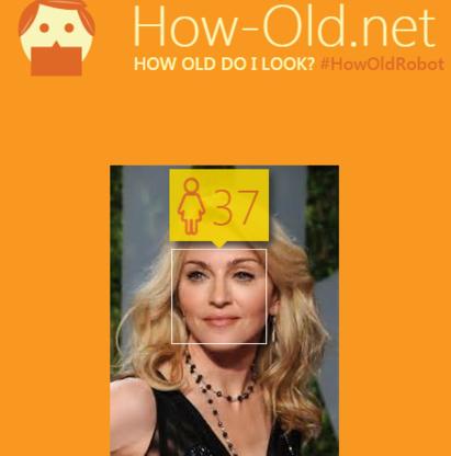 Lachen met de leeftijdsvoorspeller van Microsoft