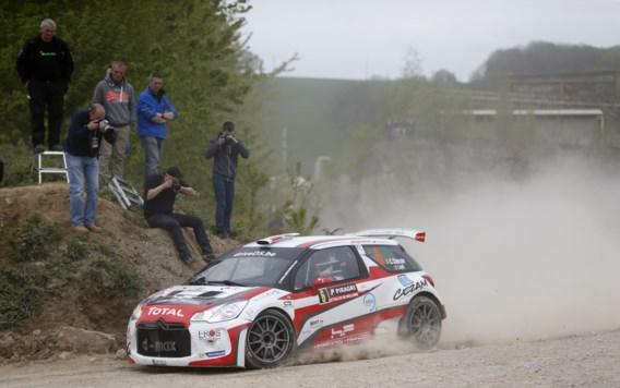 Cherain na vreemde ontknoping als winnaar aangeduid in Rally van Wallonië