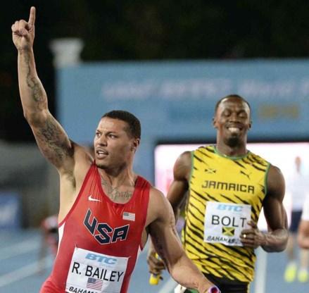 WK aflossingen: VS houden Bolt en co van goud op 4x100 meter
