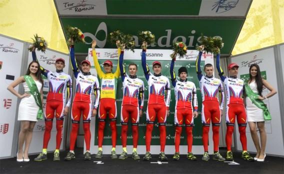 Katusha op de hielen van Etixx-Quick Step in WorldTour-ranking