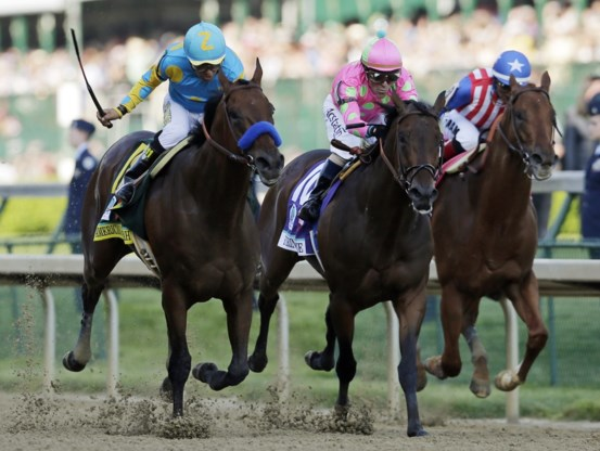 American Pharoah wint 141e Kentucky Derby