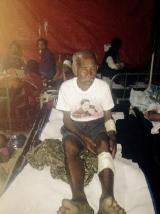 101-jarige levend van onder puin gehaald