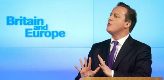 David Cameron in januari 2013, tijdens zijn 'Bloombergspeech' over Europa.
