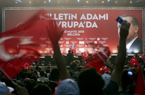 Turkse president begeestert Hasselt