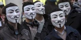 'Website Senaat gehackt door Anonymous'