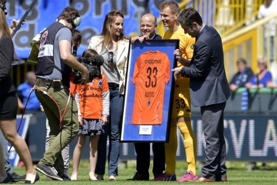 Club Brugge neemt met staande ovatie afscheid van Kujovic