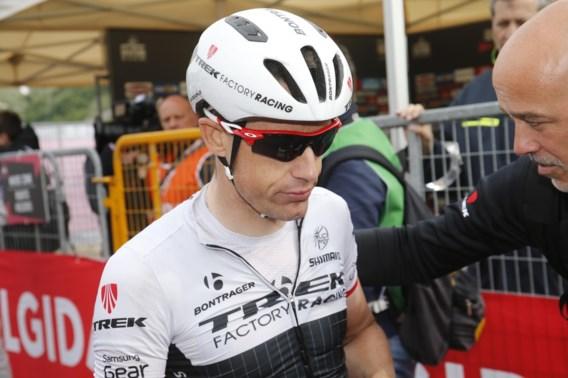 Kristof Vandewalle verlaat Giro met gebroken vinger