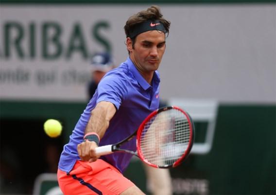 ROLAND GARROS. Federer neemt eerste horde