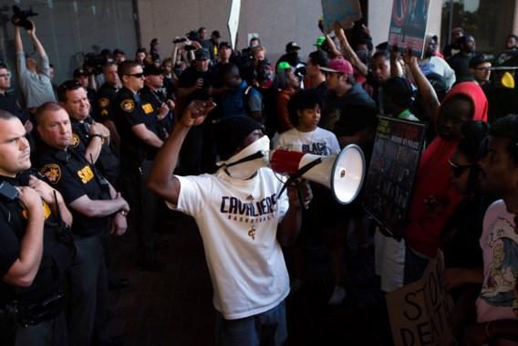 Demonstranten opgepakt na vrijspraak voor blanke agent