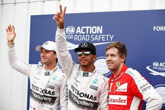 GP van Monaco: startgrid