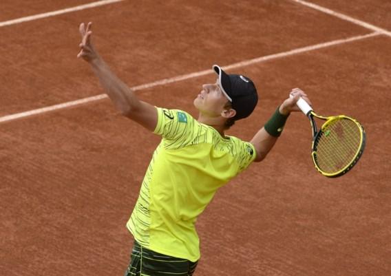 Qualifier Kimmer Coppejans verliest in eerste ronde Roland Garros