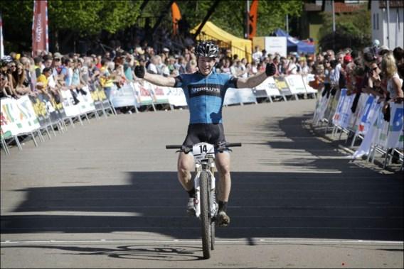 Ook pech voor Jens Schuermans in Nove Mesto op WB mountainbike