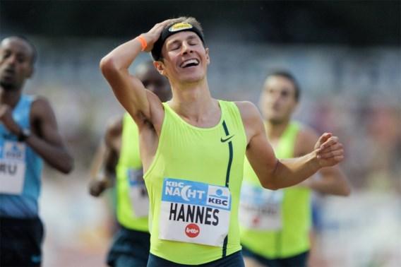 Pieter-Jan Hannes loopt minima voor Spelen en WK op 1.500m