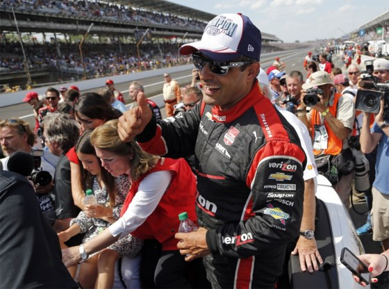 Juan Pablo Montoya wint tweede keer Indy 500