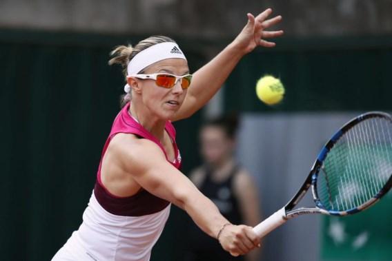 Kirsten Flipkens meteen onderuit op Roland Garros