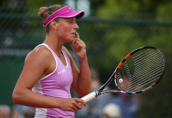 Intelligent racket kon Yanina Wickmayer niet redden in Parijs