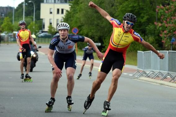 Belgische marathontitels skeeleren voor Ferre Spruyt en Sandrine Tas