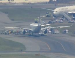 Gevechtstoestellen begeleiden toestel Air France: veilig geland in New York