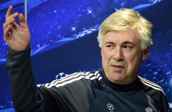 Real Madrid stuurt trainer Carlo Ancelotti de laan uit
