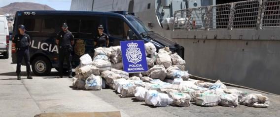 1,8 ton cocaïne onderschept op vissersboot ter hoogte van Canarische eilanden