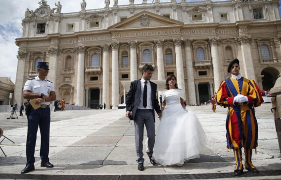 Voor het Vaticaan blijft het huwelijks iets exclusiefs tussen man en vrouw. Ook onder Franciscus zal de leer niet aangepast worden.