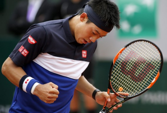 Roland Garros. Nishikori, Tsonga en Wawrinka bereiken kwartfinales