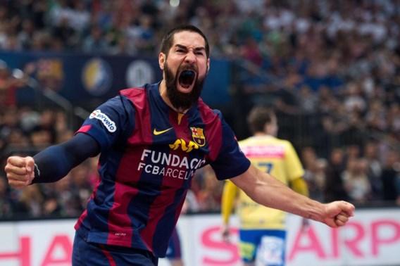 Barcelona en sterspeler Karabatic triomferen in finale Champions League handbal