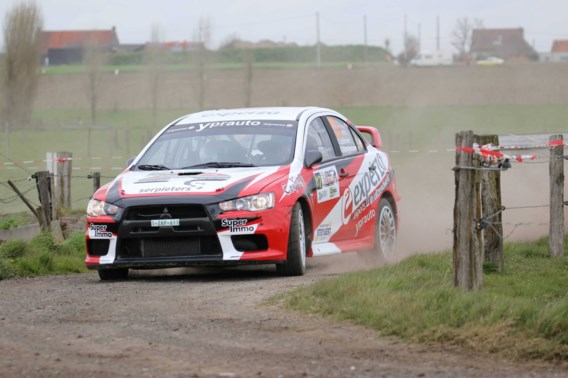 Andy Lefevere autoritair in ORC Canal Rally