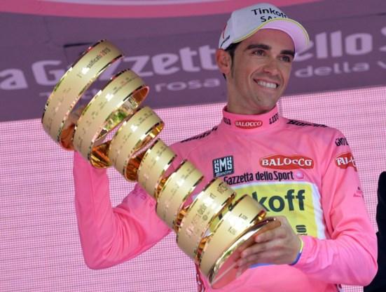 Contador: 'En nu opnieuw gele trui in Tour pakken'