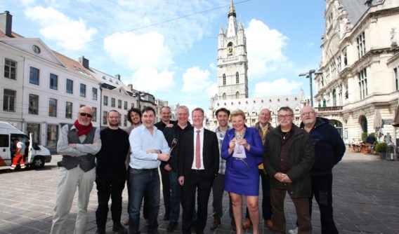 Vzw Onder De Draak organiseert de feesten op het Sint-Baafsplein al voor de vijftiende keer.