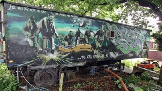 Meer dan 600.000 euro voor kunstwerk Banksy