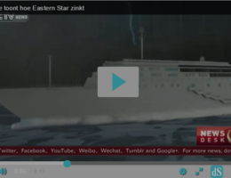 VIDEO. Zo is het schip de Eastern Star gezonken