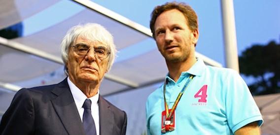 F1-baas Bernie Ecclestone: 'Geen idee wanneer ik zal terugtreden'