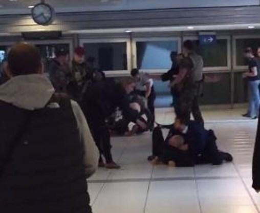 Dakloze in Brussel aangevallen door leden van extreemrechtse groepering