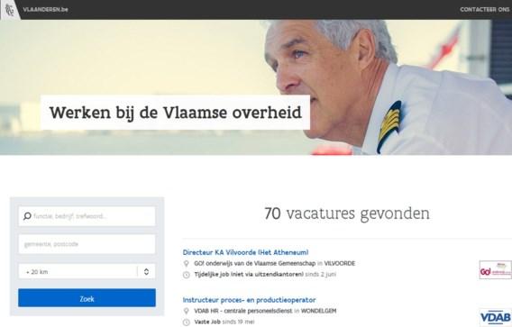 Geen M/V meer in vacatures Vlaamse overheid