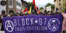 G7-top in Beieren brengt betoging op de been