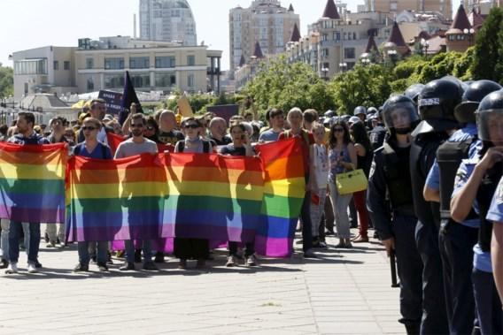 Gay Pride in Kiev verstoord door ultranationalisten