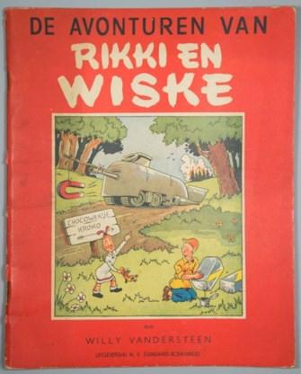 Eerste Suske en Wiske geveild voor 4.000 euro