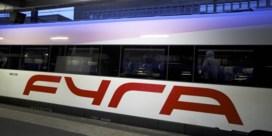 Nederlandse Spoorwegen excuseren zich voor Fyra-debacle