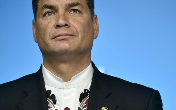 Rafael Correa, de president van Ecuador.
